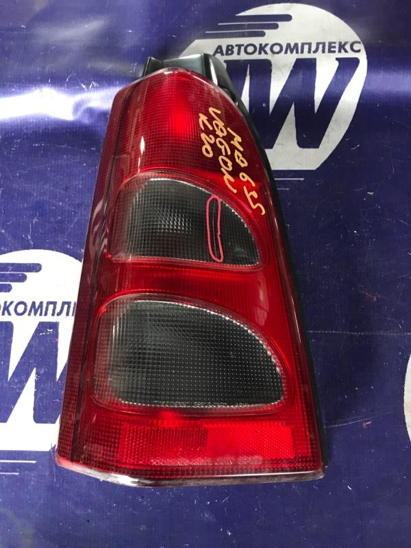 Стоп Suzuki Wagon R Plus MA63S K10A левый (б/у)