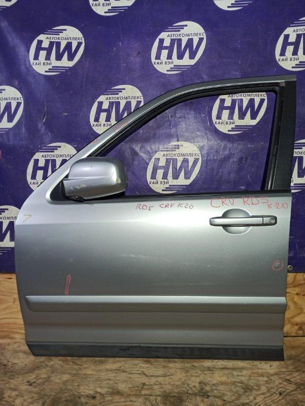 Дверь Honda Cr-V RD5 K20A 2003 передняя левая (б/у)