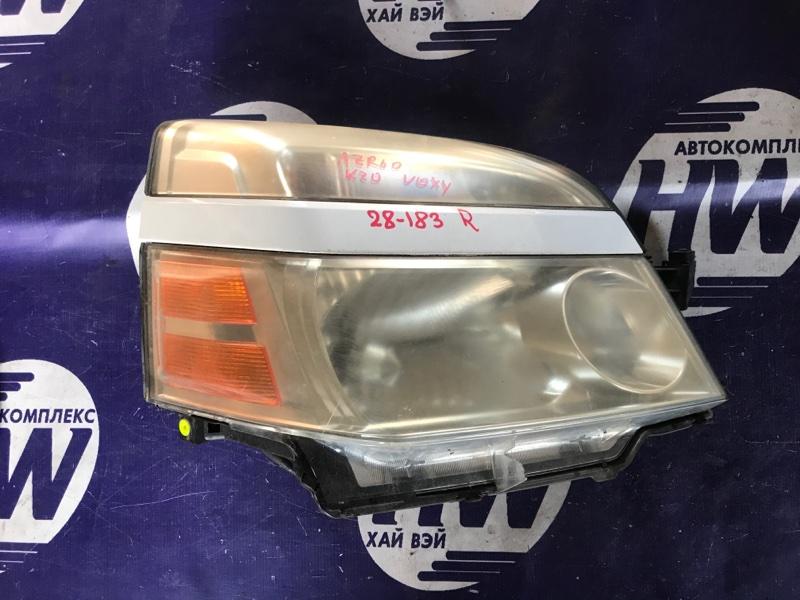 Фара Toyota Voxy AZR60 1AZ правая (б/у)