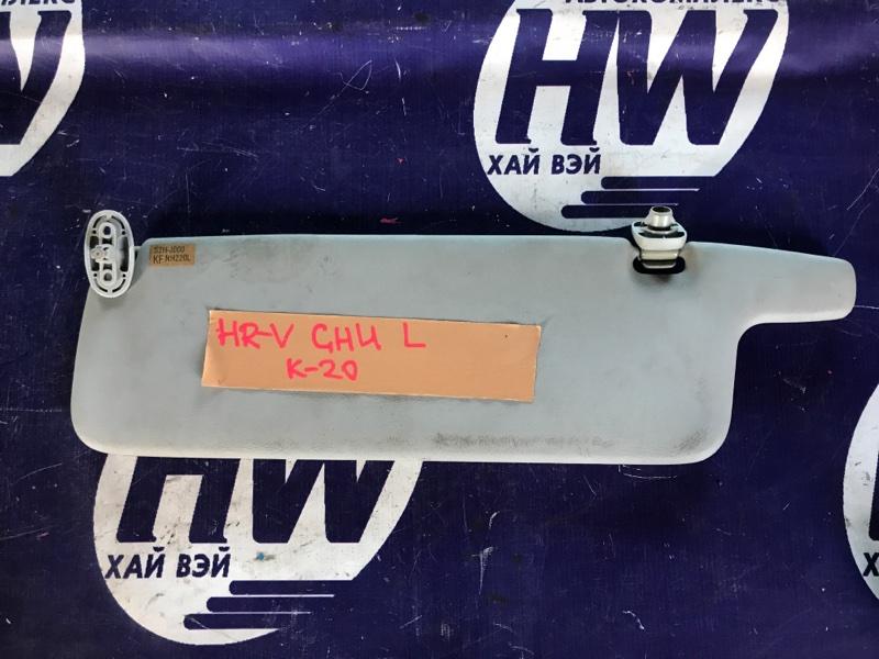 Козырек солнцезащитный Honda Hr-V GH4 D16A 1999 левый (б/у)