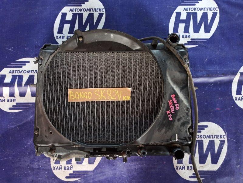 Радиатор Mazda Bongo SK82V F8 2004 (б/у)