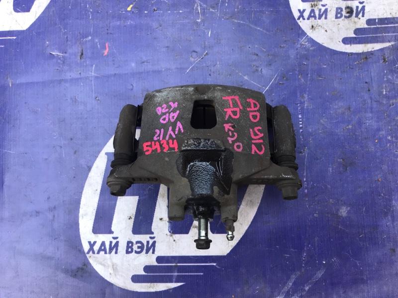 Суппорт Nissan Ad Y12 HR15 передний правый (б/у)