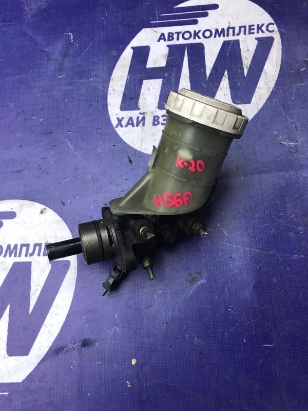 Главный тормозной цилиндр Mitsubishi Pajero Mini H56A 4A30 (б/у)