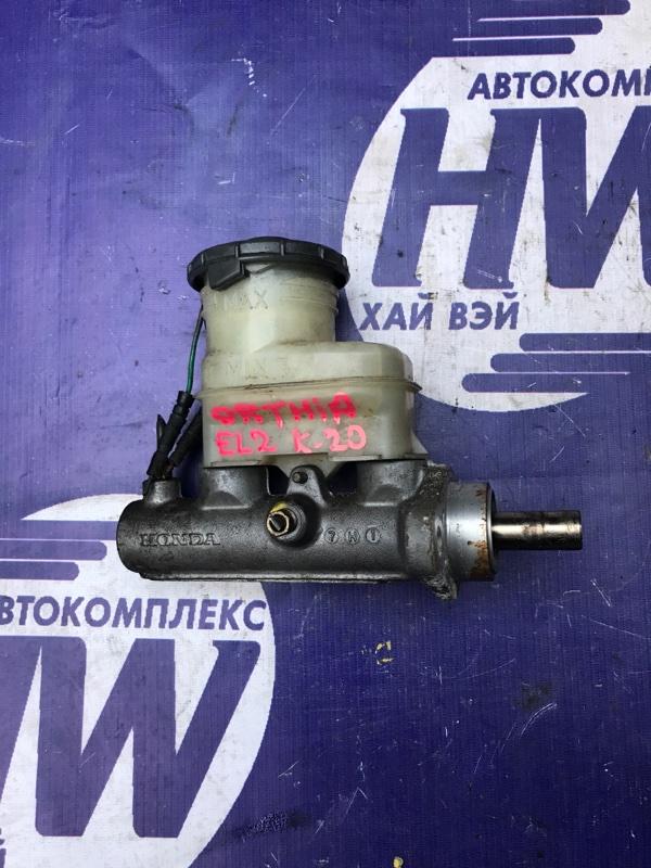 Главный тормозной цилиндр Honda Orthia EL2 B20B (б/у)