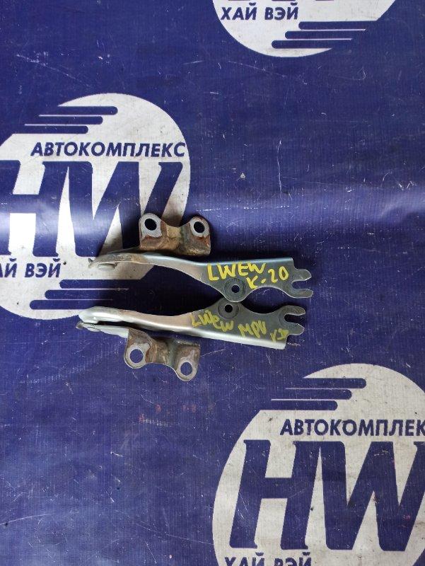 Петля капота Mazda Mpv LWEW FS (б/у)
