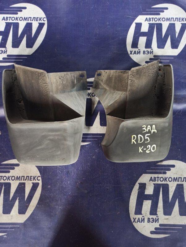 Брызговик Honda Cr-V RD5 K20A 2003 задний (б/у)