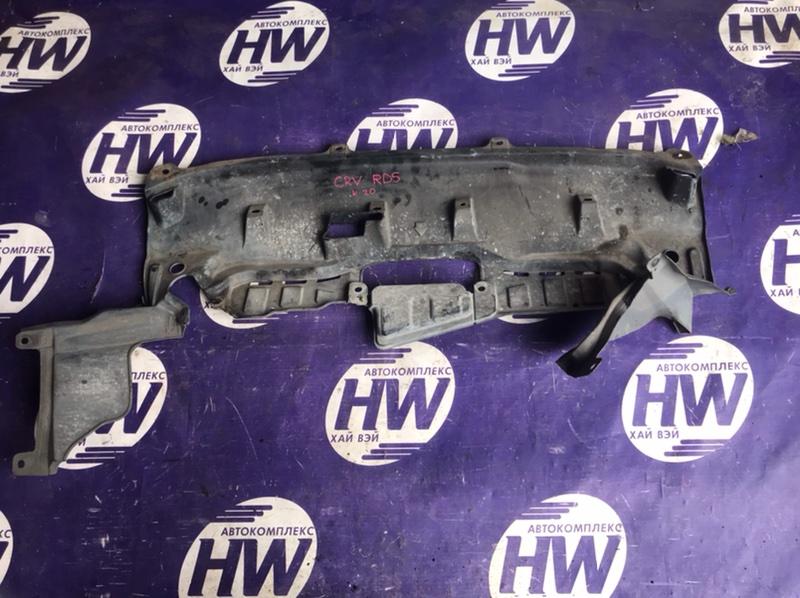 Защита двигателя Honda Cr-V RD5 K20A 2003 (б/у)
