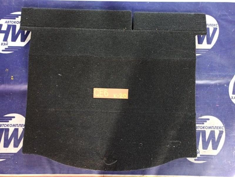 Коврик багажника Honda Fit GE6 L13A 2008 (б/у)