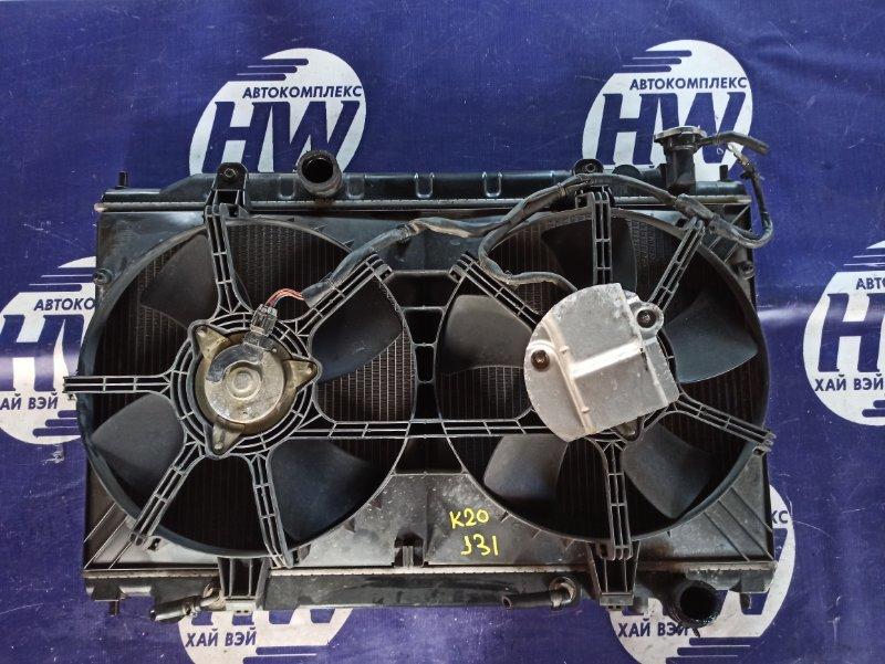 Радиатор Nissan Teana J31 VQ23 (б/у)
