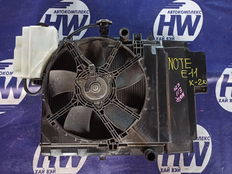 Радиатор Nissan Note E11 HR15 (б/у)
