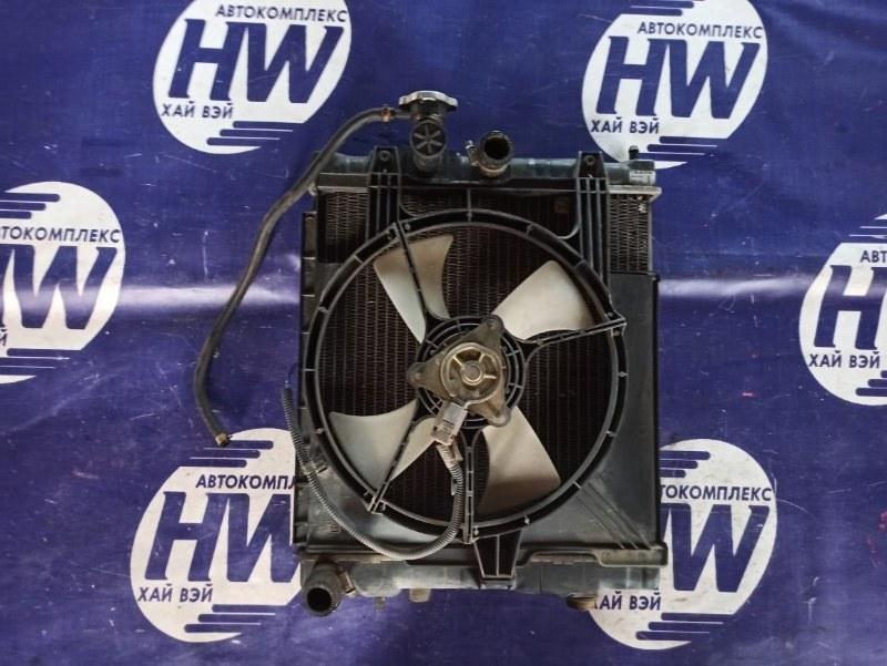 Радиатор Nissan March K11 CG10 (б/у)