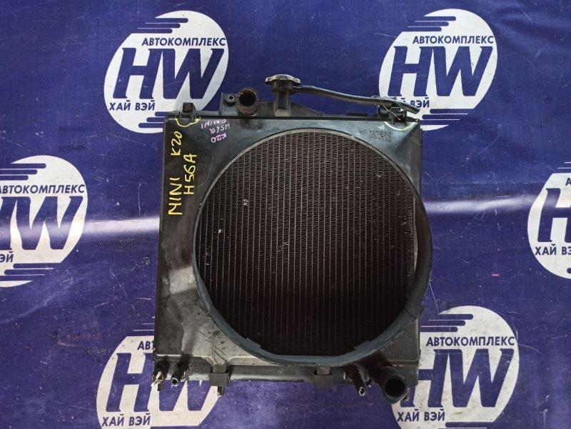 Радиатор Mitsubishi Pajero Mini H56A 4A30 (б/у)