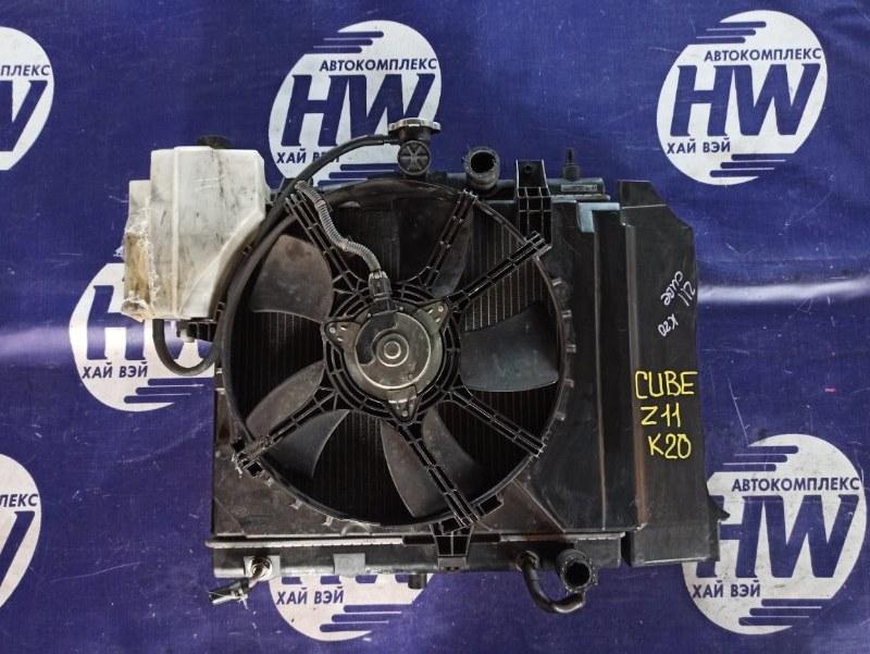 Радиатор Nissan Cube BZ11 CR14 (б/у)