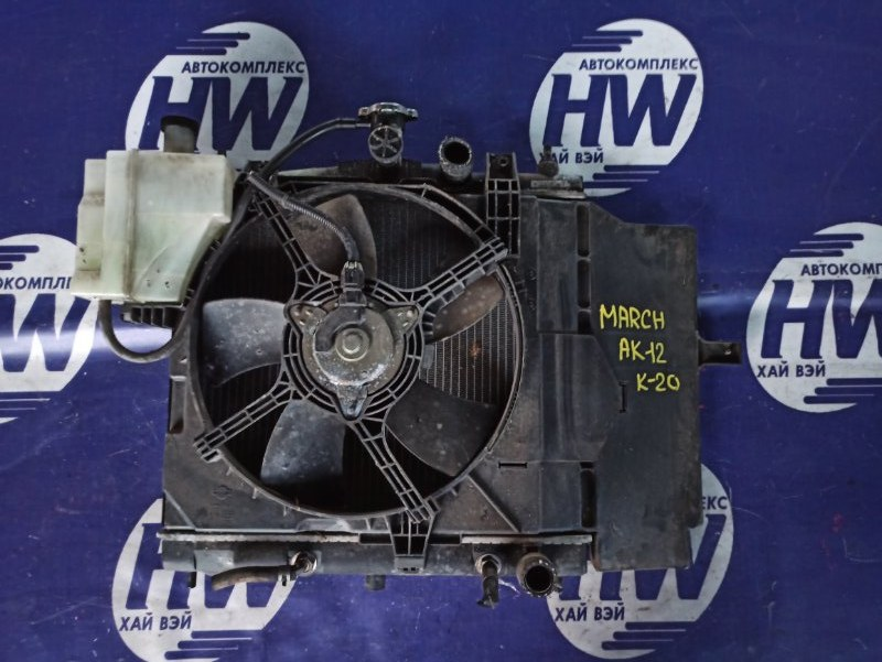 Радиатор Nissan March AK12 CR12 (б/у)