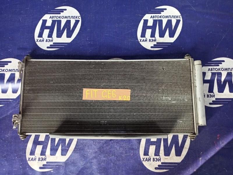 Радиатор кондиционера Honda Fit GE6 L13A 2008 (б/у)