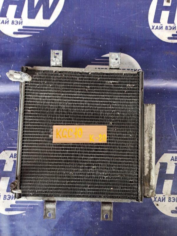 Радиатор кондиционера Toyota Passo KGC10 1KR (б/у)