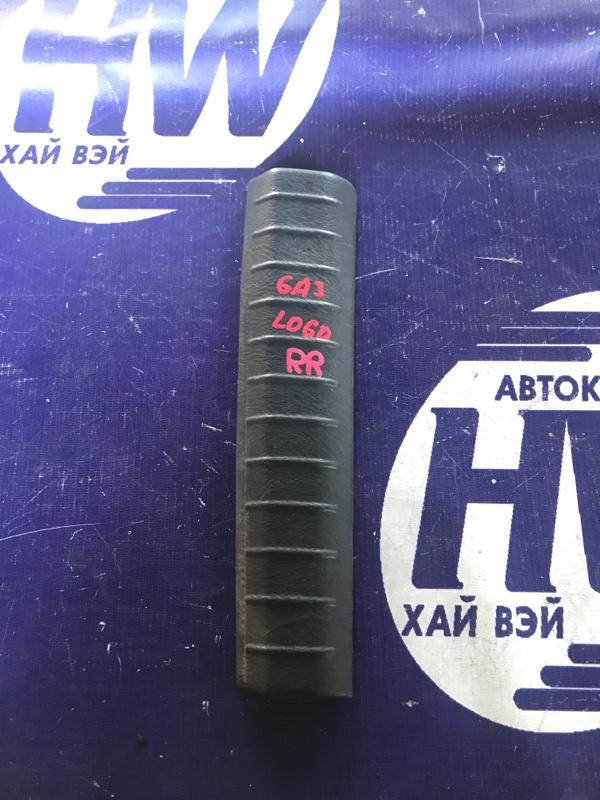 Накладка замка багажника Honda Logo GA3 D13B 2000 правая (б/у)