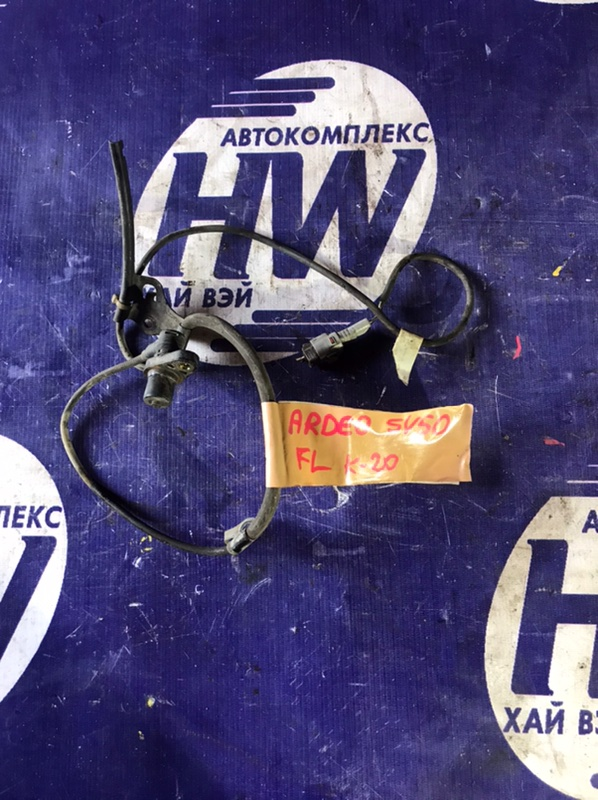 Датчик abs Toyota Vista Ardeo SV50 3SFSE 1997 передний левый (б/у)