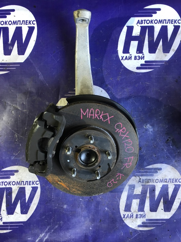 Ступица Toyota Mark X GRX120 4GRFSE передняя правая (б/у)
