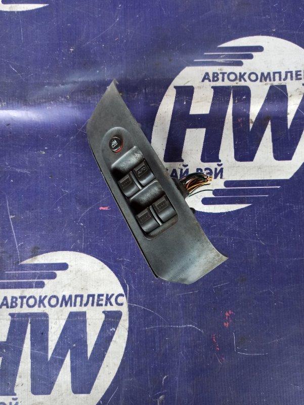 Блок упр. стеклоподъемниками Honda Fit GD1 L13A передний правый (б/у)