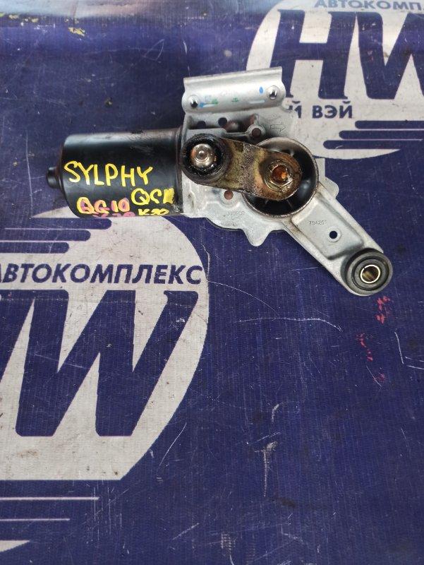 Мотор дворников Nissan Bluebird Sylphy QG10 QG18 (б/у)