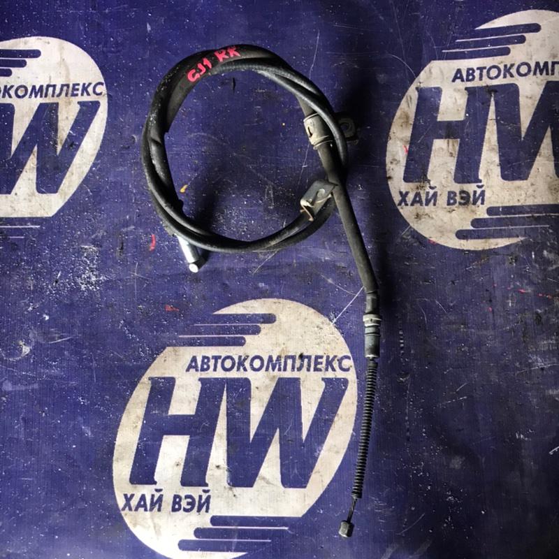 Трос ручника Honda Airwave GJ1 L15A правый (б/у)