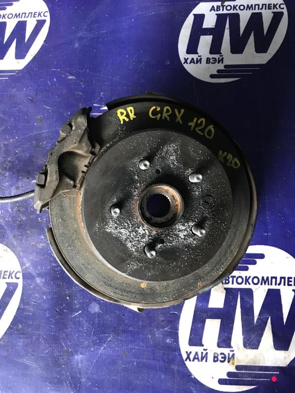 Ступица Toyota Mark X GRX120 4GRFSE задняя правая (б/у)