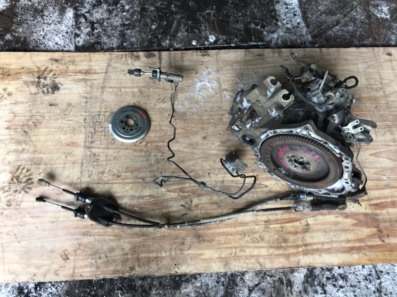 Коробка Toyota Probox NLP51 1ND (б/у)