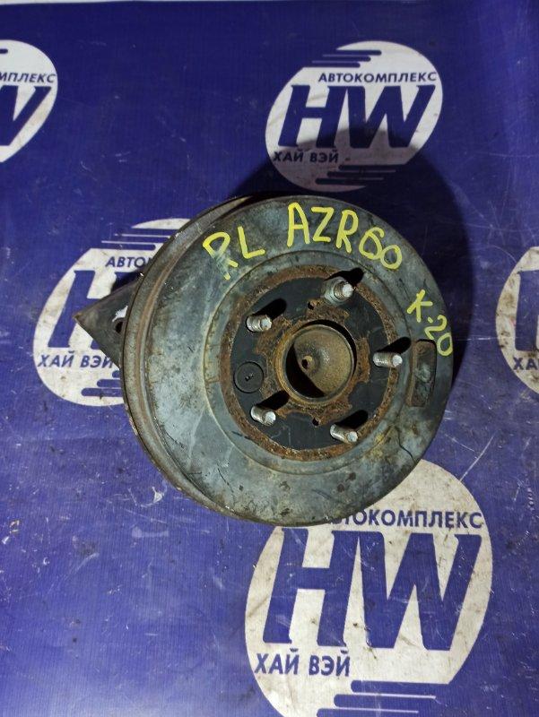Ступица Toyota Voxy AZR60 1AZ задняя левая (б/у)