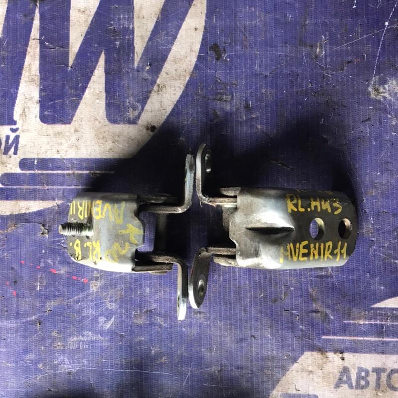 Петля дверная Nissan Expert VW11 QG18 задняя левая (б/у)