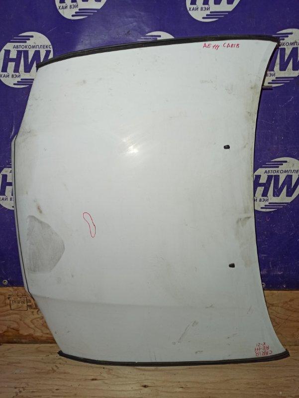 Капот Toyota Sprinter Carib AE111 4A (б/у)