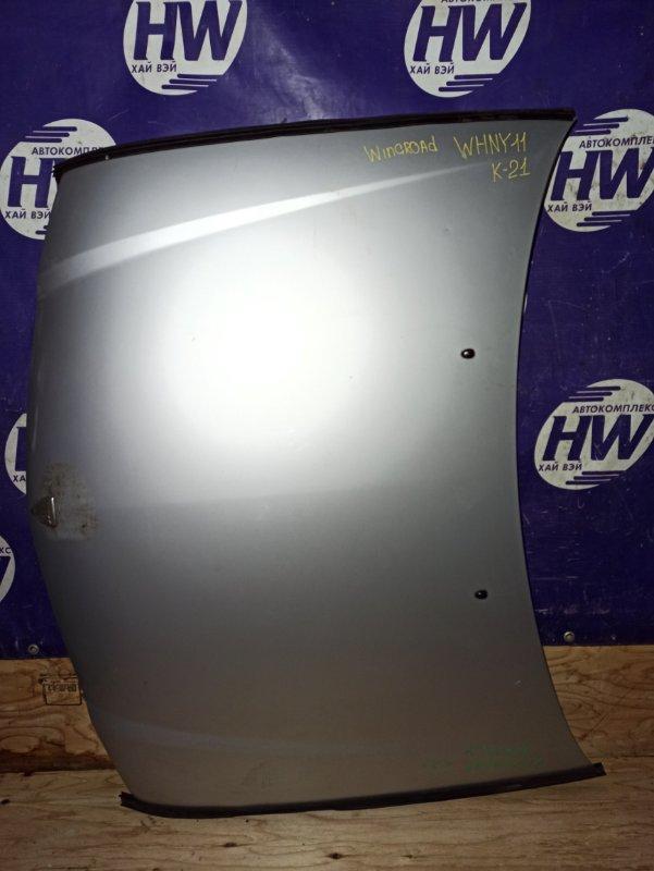 Капот Nissan Wingroad WHNY11 QG18 1999 (б/у)