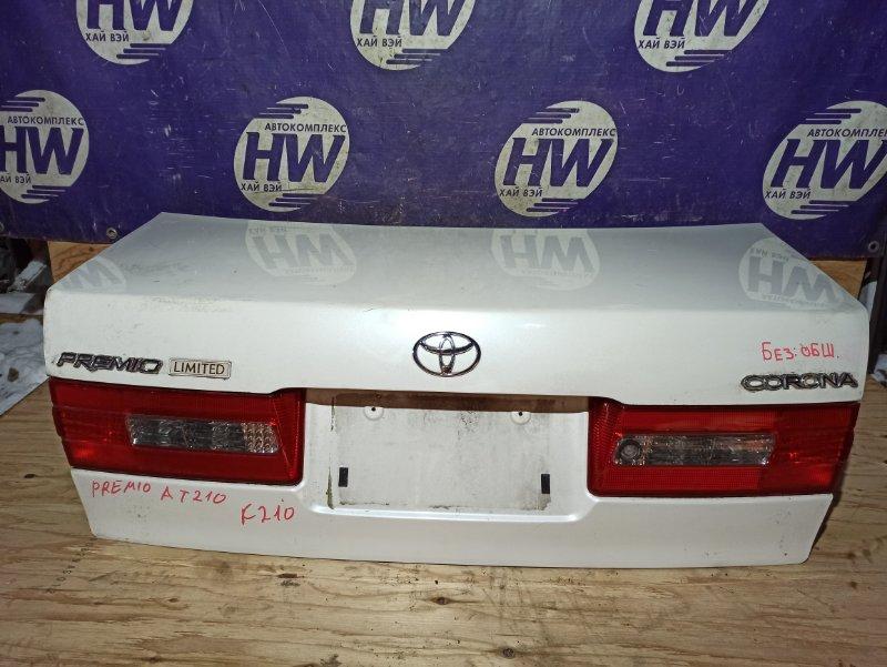 Крышка багажника Toyota Corona Premio AT210 4A 2001 (б/у)