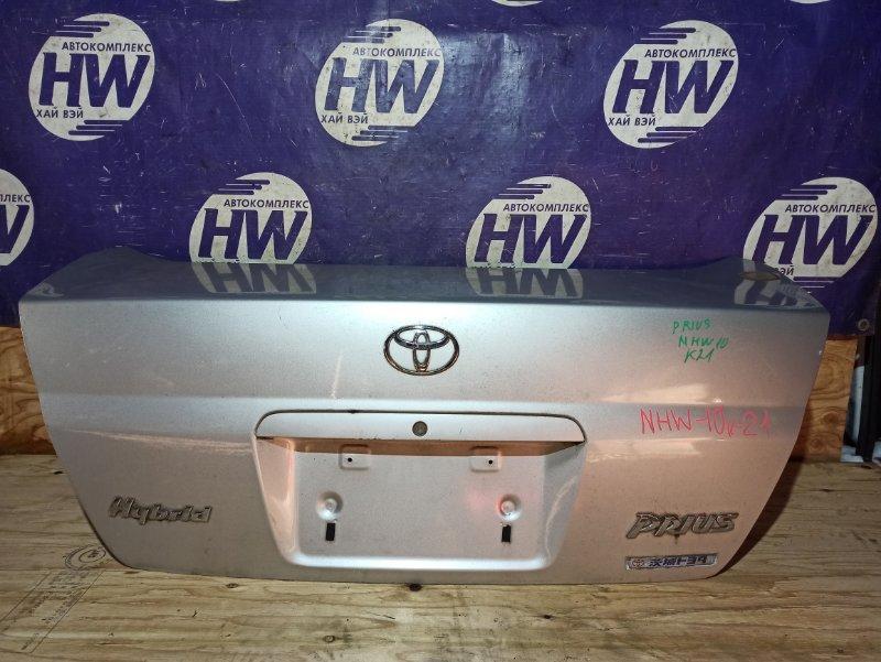 Крышка багажника Toyota Prius NHW10 1NZFXE (б/у)