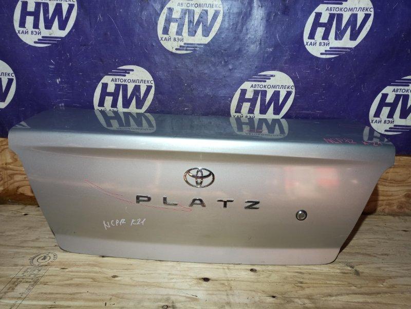 Крышка багажника Toyota Platz NCP12 1NZ (б/у)