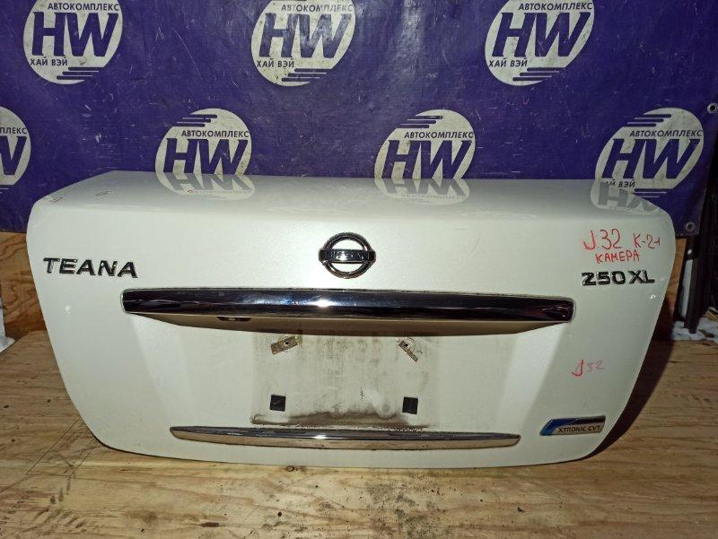 Крышка багажника Nissan Teana J32 VQ25 (б/у)