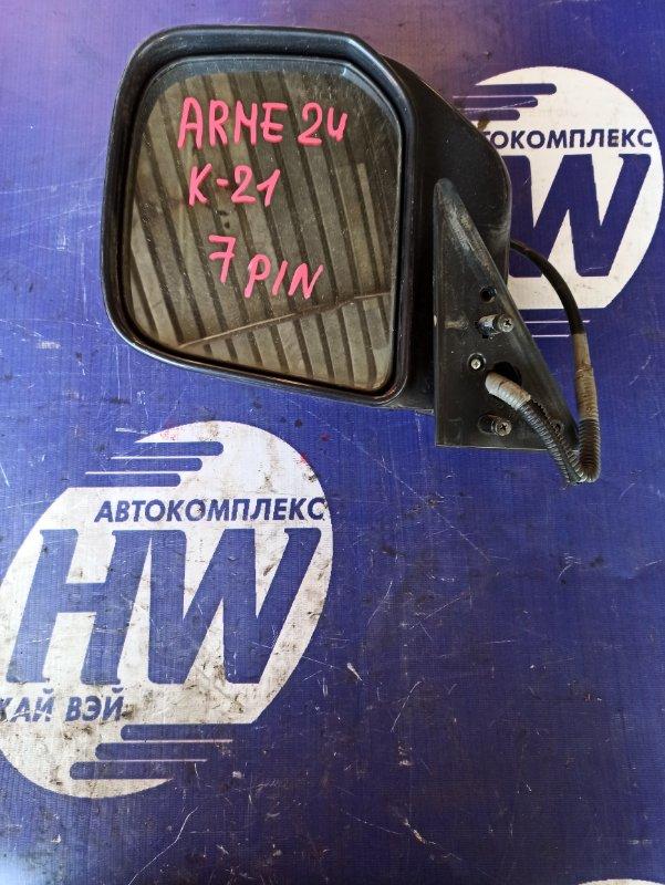 Зеркало Nissan Homy ARME24 TD27 левое (б/у)