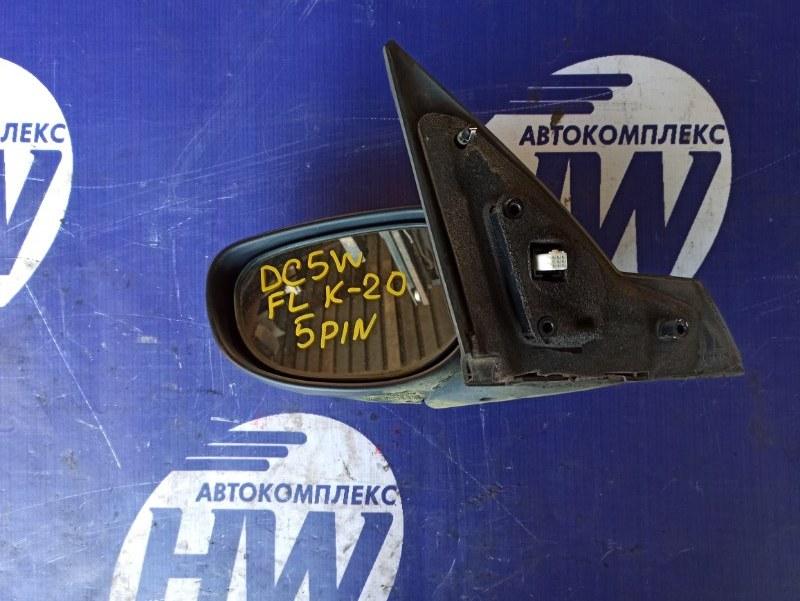 Зеркало Mazda Verisa DC5W ZY левое (б/у)