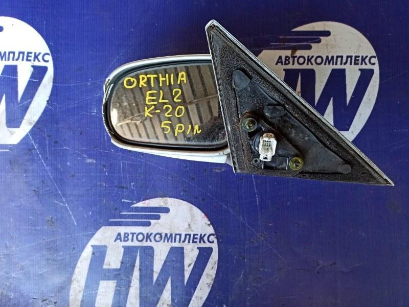 Зеркало Honda Orthia EL2 B20B левое (б/у)