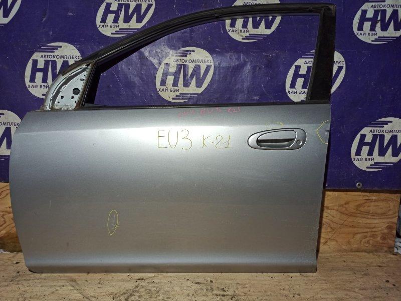 Дверь Honda Civic EU3 D17A передняя левая (б/у)