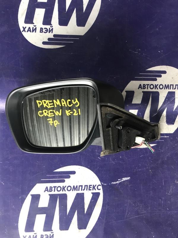 Зеркало Mazda Premacy CREW LF левое (б/у)