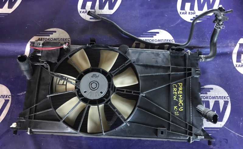 Радиатор Mazda Premacy CREW LF (б/у)