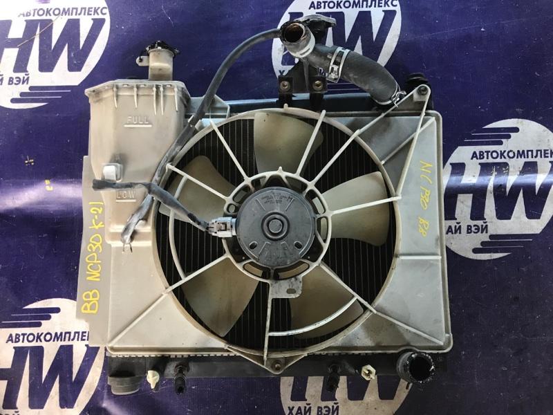 Радиатор Toyota Bb NCP30 2NZ (б/у)