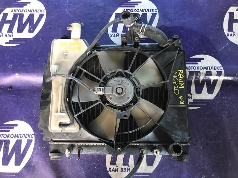 Радиатор Toyota Raum NCZ20 1NZ (б/у)