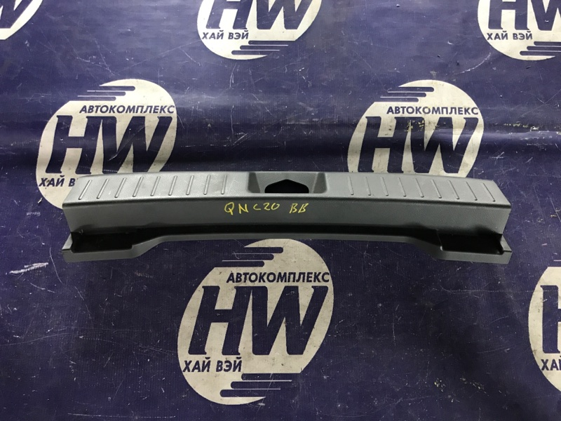 Накладка замка багажника Toyota Bb QNC20 K3VE (б/у)