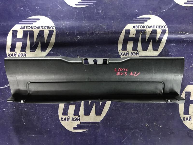 Накладка замка багажника Honda Civic EU3 D17A (б/у)