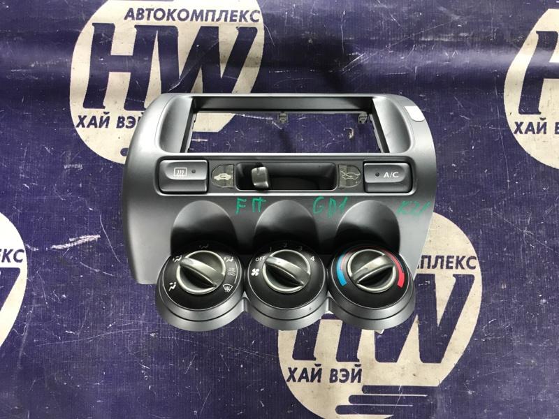 Климат-контроль Honda Fit GD1 L13A 2001 (б/у)