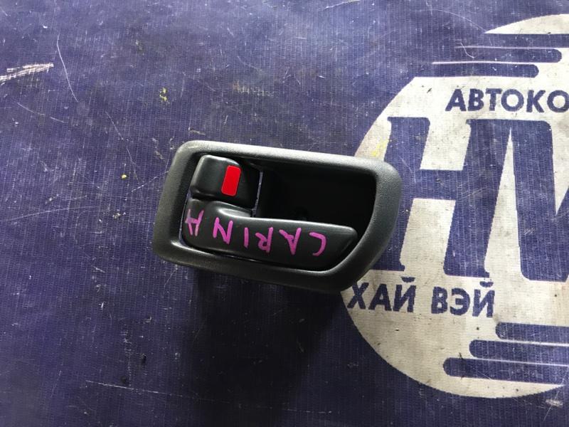 Ручка двери внутренняя Toyota Carina AT211 7A 2000 передняя левая (б/у)