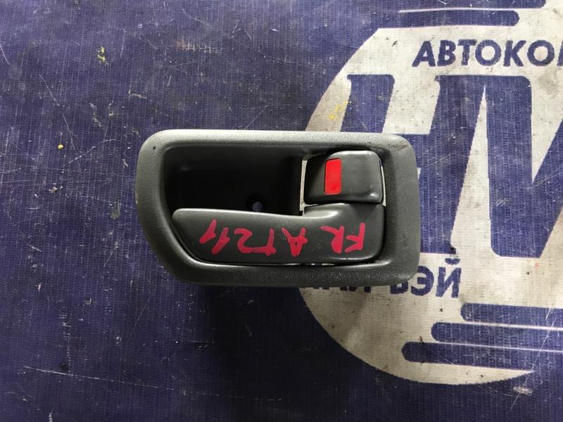 Ручка двери внутренняя Toyota Carina AT211 7A 2001 передняя правая (б/у)