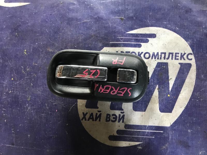 Ручка двери внутренняя Nissan Serena C25 MR20 передняя правая (б/у)